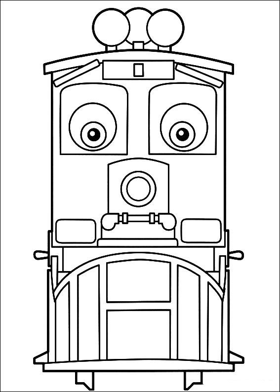 Kids-n-fun.com | 24 coloring pages of Chuggington