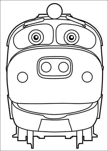 Kids N Fun Com 24 Coloring Pages Of Chuggington
