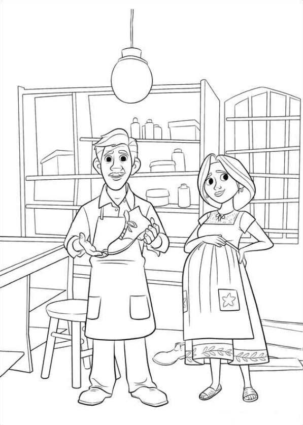 Miguel and Dante From Disney Movie Pixar Coco Coloring Pages to ... | 837x597