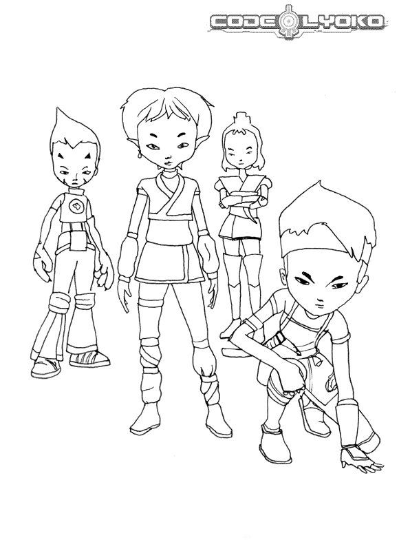 kids n fun com 16 coloring pages of code lyoko code lyoko printable coloring pages code lyoko printable coloring pages