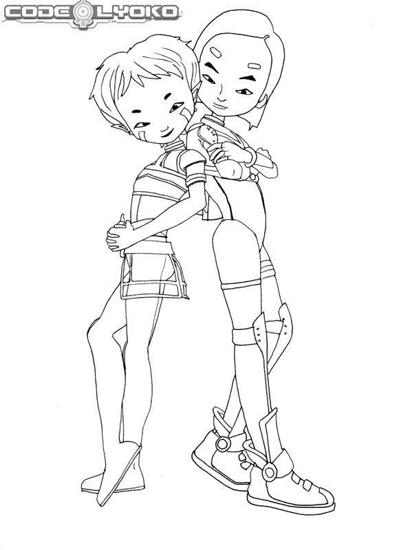 code lyoko coloring pages - photo#17