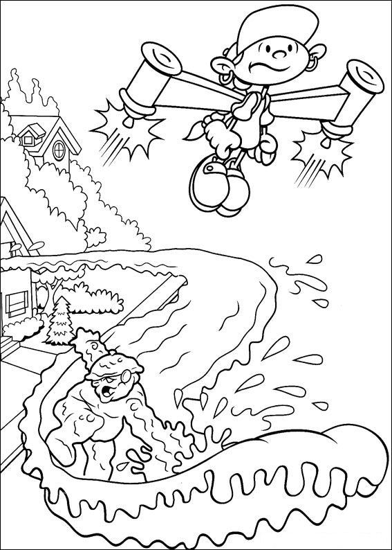 30 Codename Kids Next Door Coloring Pages