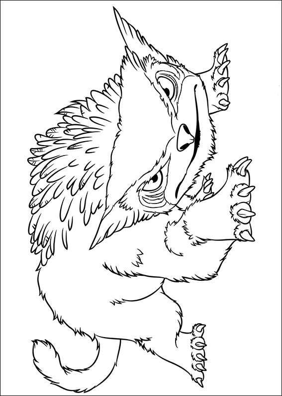 crood coloring pages - photo#22