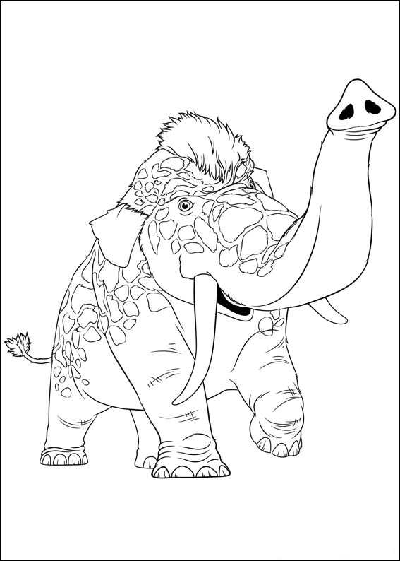 n 39 coloring pages of croods