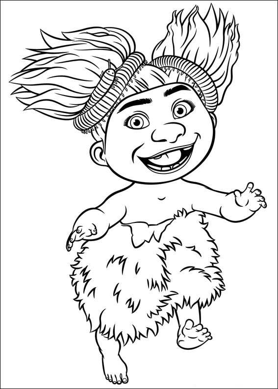 the croods eep coloring pages - photo#18