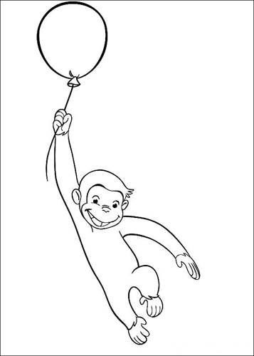 FREE Curious George Worksheets | 500x357