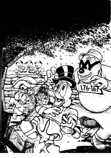 Kids N Fun Com 24 Coloring Pages Of Scrooge Mcduck