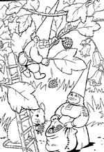coloring page David the Gnome