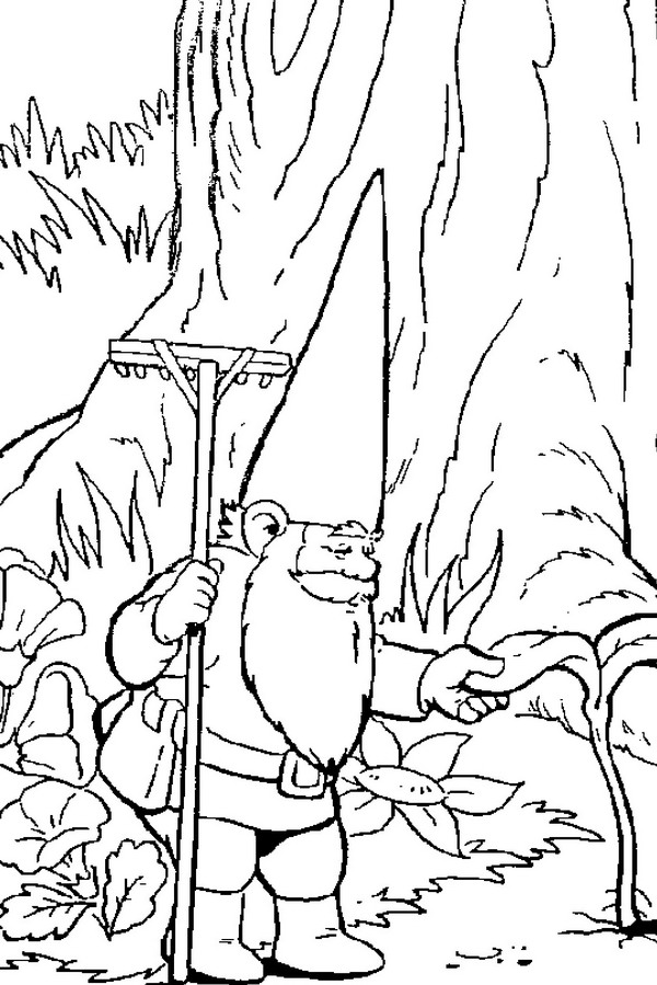 Kids-n-fun.com | 23 coloring pages of David the Gnome