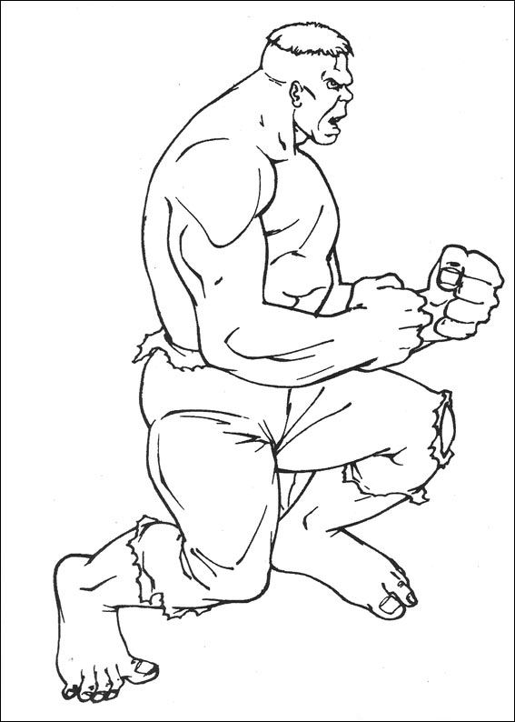 77 Hulk Coloring Pages