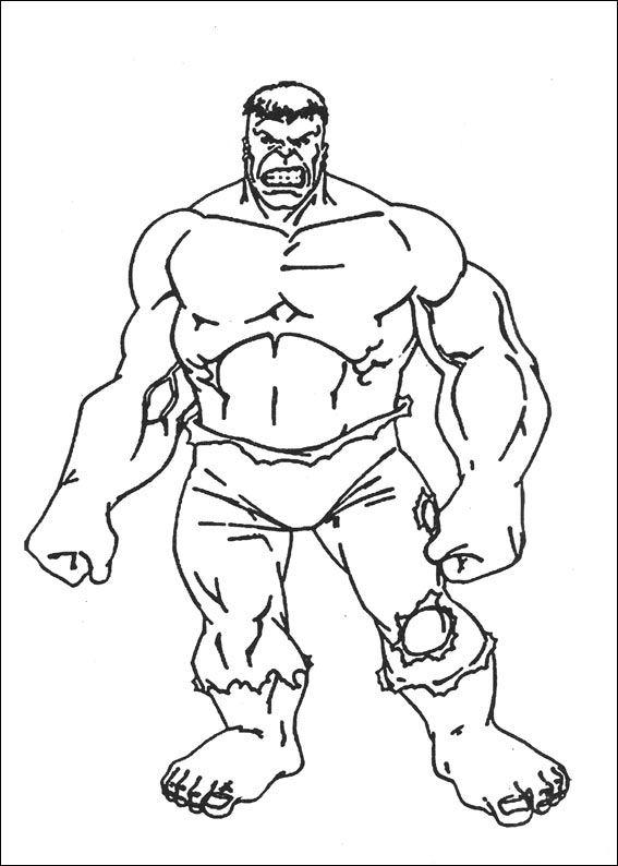 Kids-n-fun.com | 77 coloring pages of Hulk