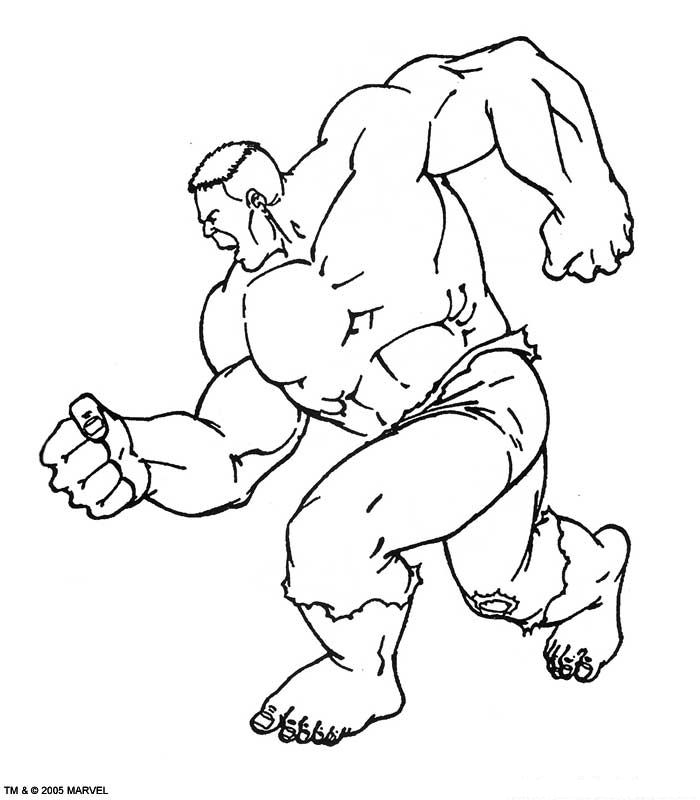 Kidsnfuncom  77 coloring pages of Hulk