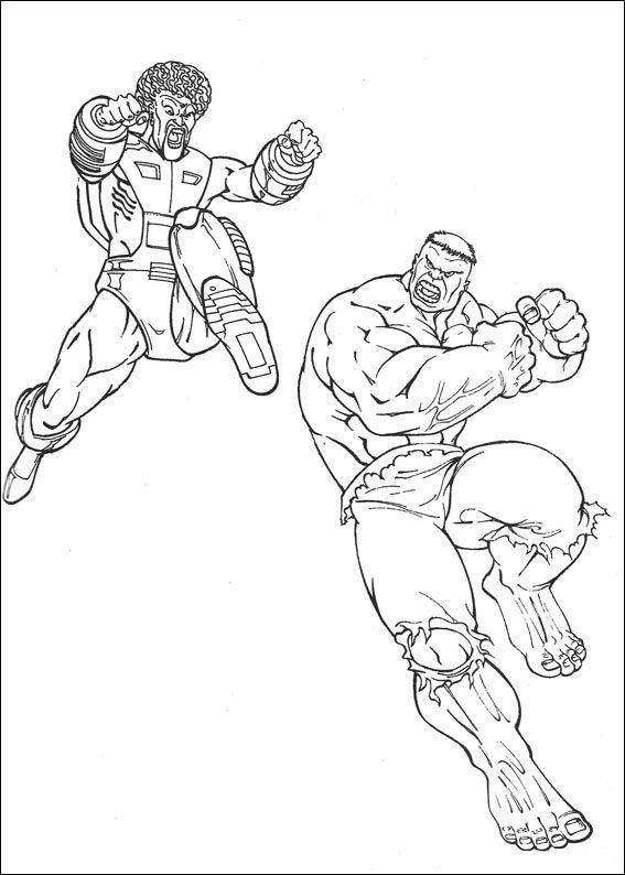 Kids N Fun Com 77 Coloring Pages Of Hulk