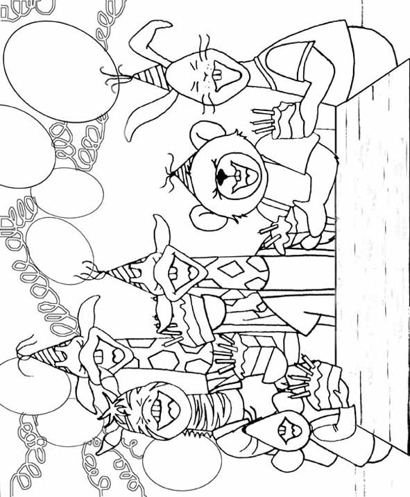 Kids N Fun Co Uk 10 Coloring Pages Of Dip And Dap