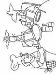 dip coloring pages | Kids-n-fun | 10 coloring pages of Dip and Dap