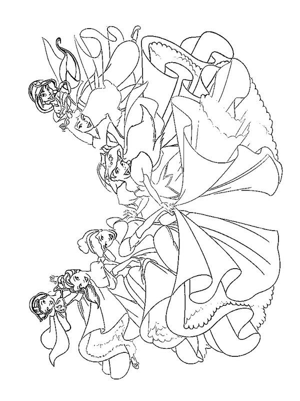 Prinses Kleurplaat Melody