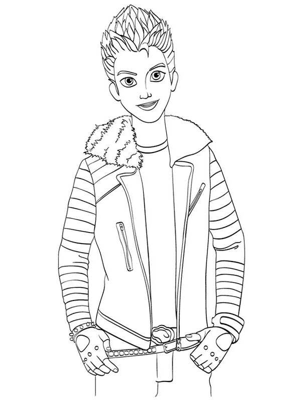 dr facilier coloring pages | Kids-n-fun.co.uk | 15 Coloring pages of Disney Descendant ...