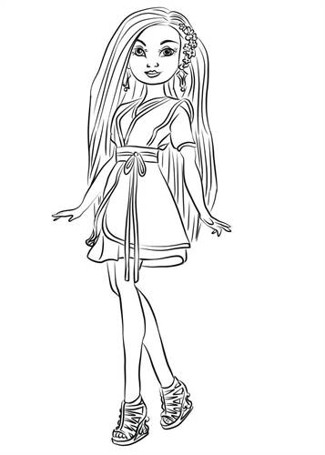 Kids N Fun Com 15 Coloring Pages Of Disney Descendant