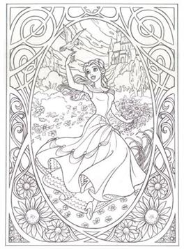 Kids N Fun Com 9 Coloring Pages Of Disney Difficult