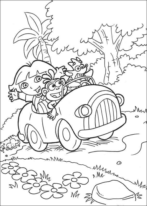 Dora as a Mermaid Coloring Pages - Get Coloring Pages | 794x567