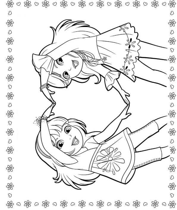 dora carnival coloring pages - photo#11