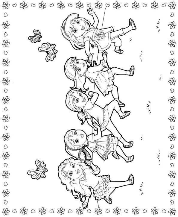 dora carnival coloring pages - photo#19