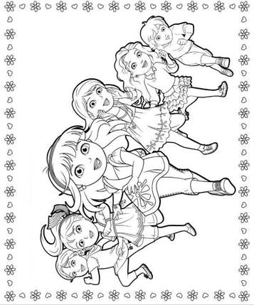 Kidsnfun 6 coloring pages