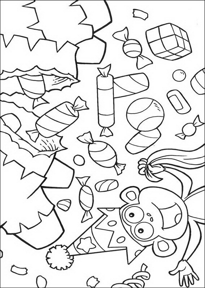 84 dora the explorer coloring pages - Dora Coloring Pages