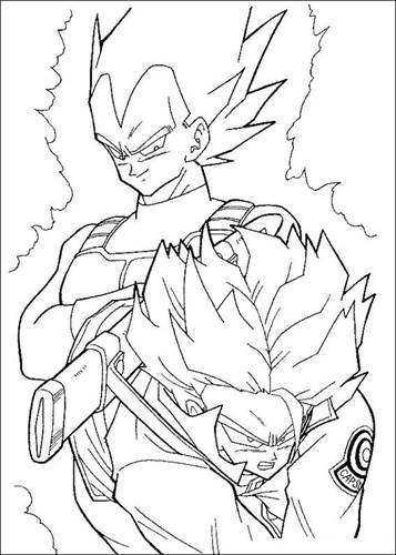 Kids N Fun Com 55 Coloring Pages Of Dragon Ball Z