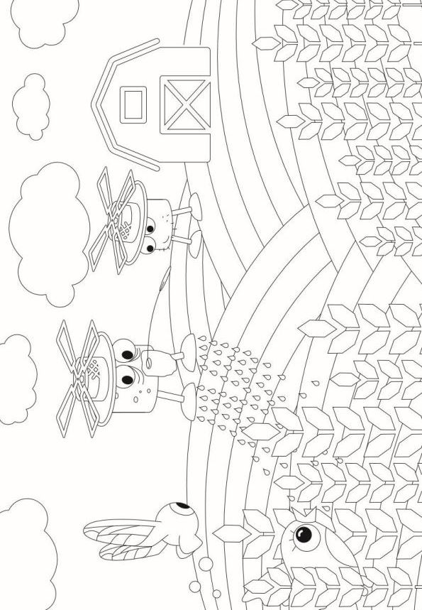 Kidsnfun 2 coloring pages of Drones