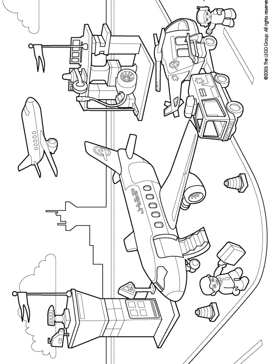 Kids-n-fun.com | 11 coloring pages of Lego Duplo