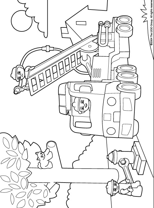 Kids-n-fun.com   11 coloring pages of Lego Duplo