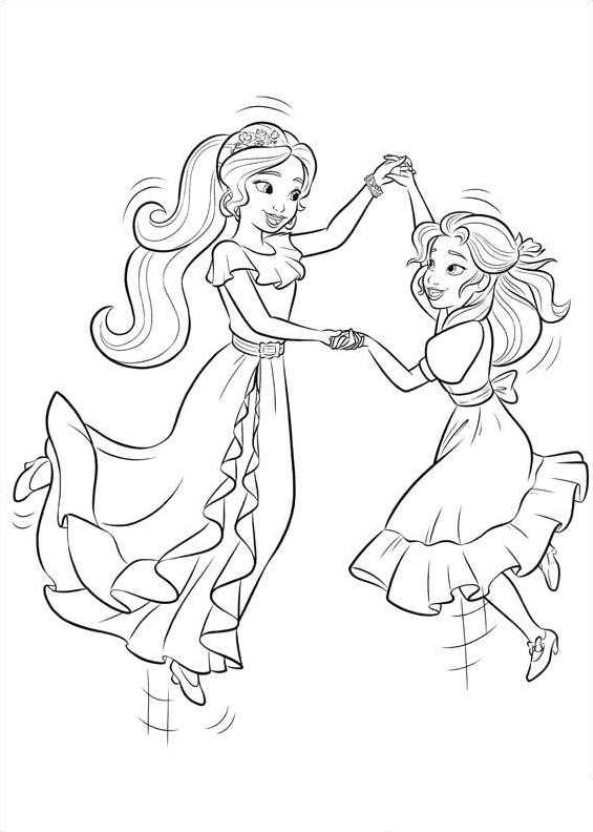 n 44 coloring pages of of avalor