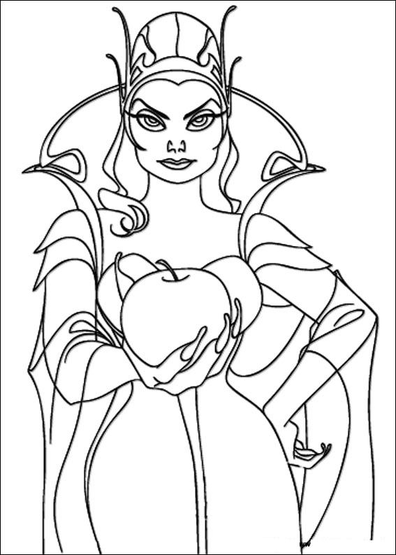 Kids-n-fun.com | 15 coloring pages of Enchanted