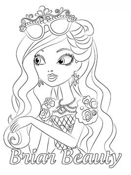 Kids N Fun Com 49 Coloring Pages Of Ever After High