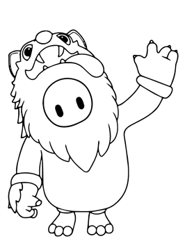 Kids-n-fun.com   20 coloring pages of Fall Guys Ultimate ...