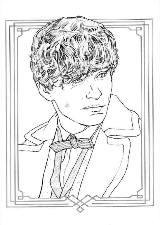Kids N Fun Com Coloring Page Fantastic Beasts And Where