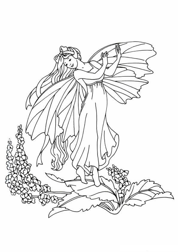 Kids N Fun Co Uk 20 Coloring Pages Of Fairies