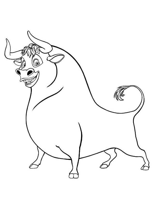 8 Coloring Pages Ferdiand