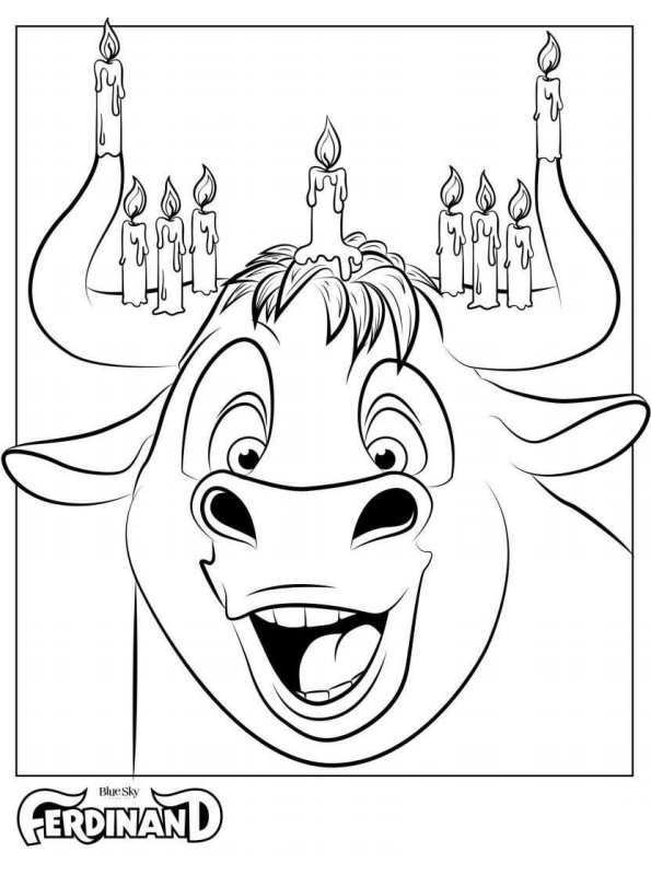 Kids-n-fun.com | 8 coloring pages of Ferdiand