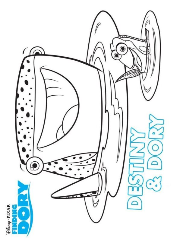 Kids N Fun Com 16 Coloring Pages Of Finding Dory