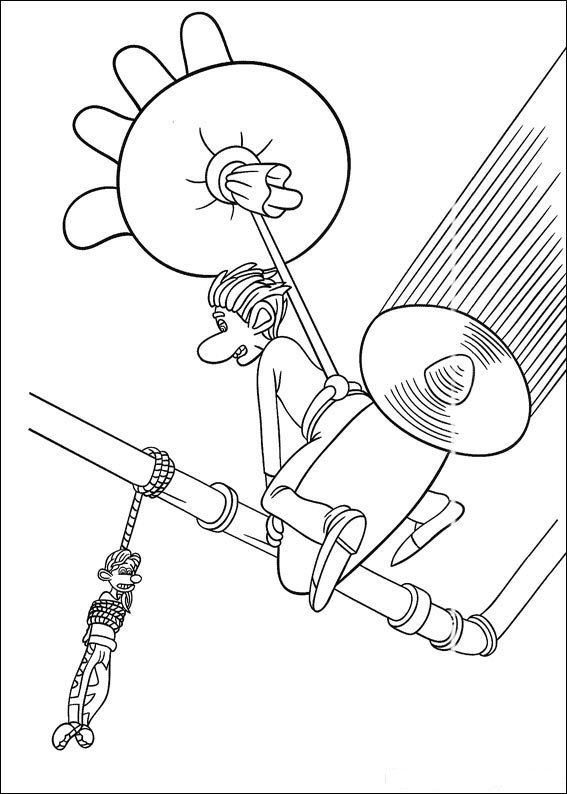 Kids N Fun Com 18 Coloring Pages Of Flushed Away Flushed Away Coloring Pages