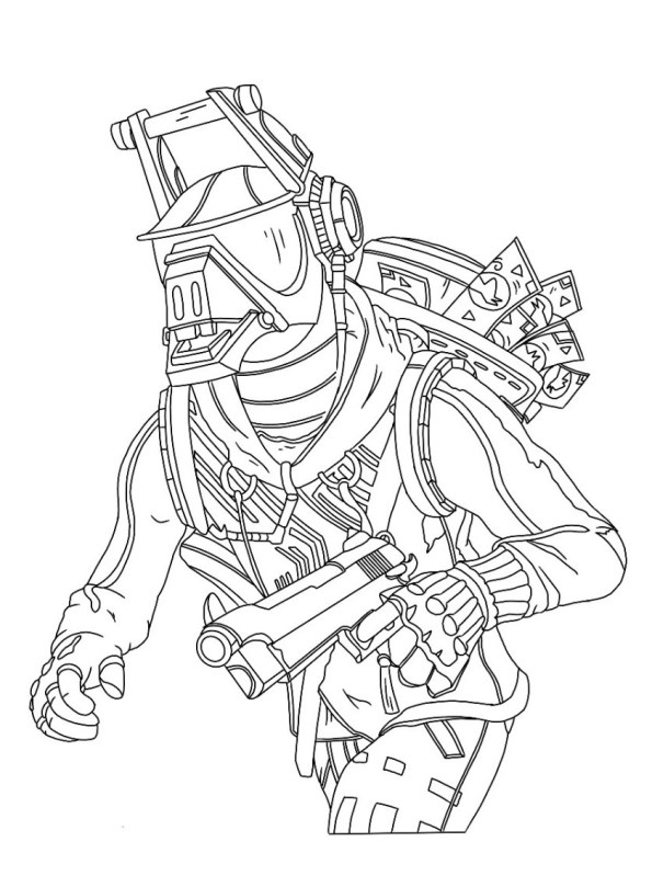 Kids N Fun Com 37 Coloring Pages Of Fortnite