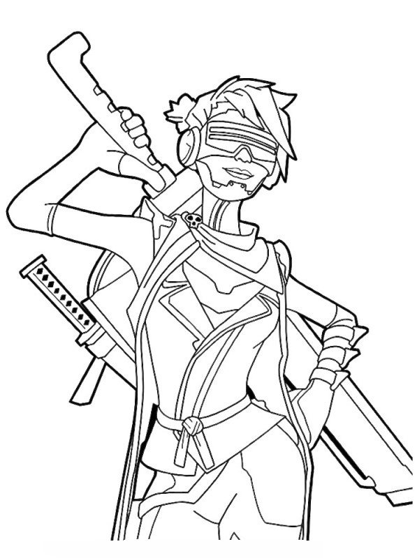 Kids N Fun Co Uk Coloring Page Fortnite Ninja