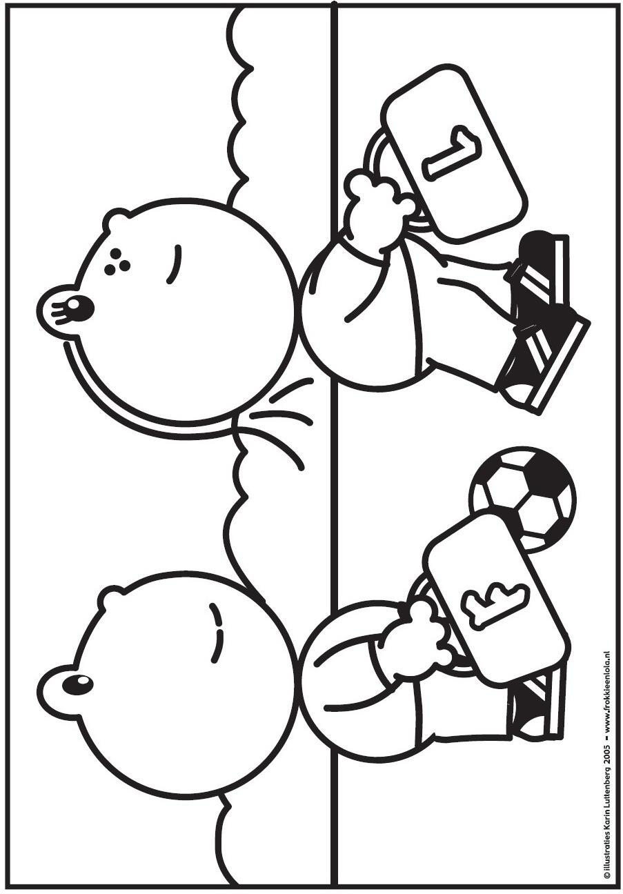 Kids n coloring page frokkie and lola frokkie for Kids n fun coloring pages