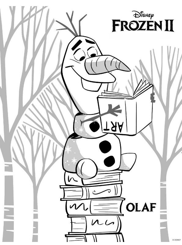Kleurplaten Pokemon Black 2.Kids N Fun Com Coloring Page Frozen 2 Frozen 2 Olaf