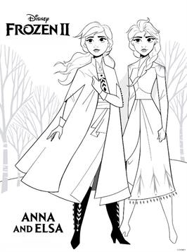 Kids N Fun Com 12 Coloring Pages Of Frozen 2