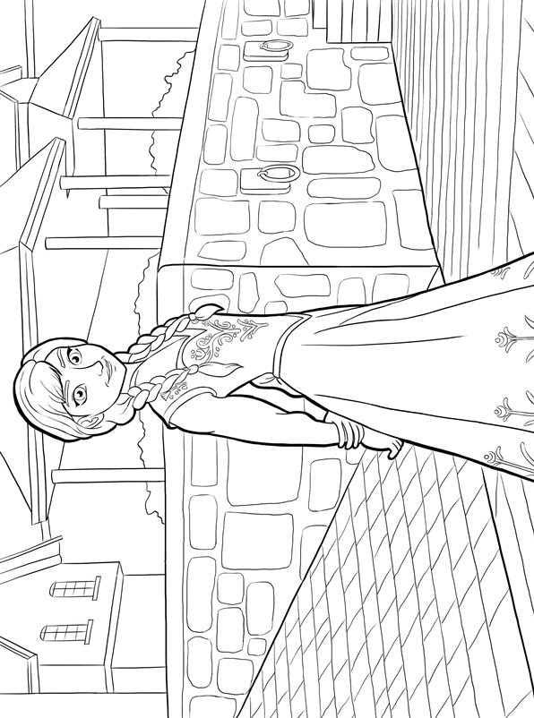 Kids N Fun Coloring Pages Frozen : Kids n fun all coloring pages about princesses