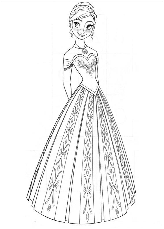 Extreem Kids-n-fun.co.uk | 35 coloring pages of Frozen PE83