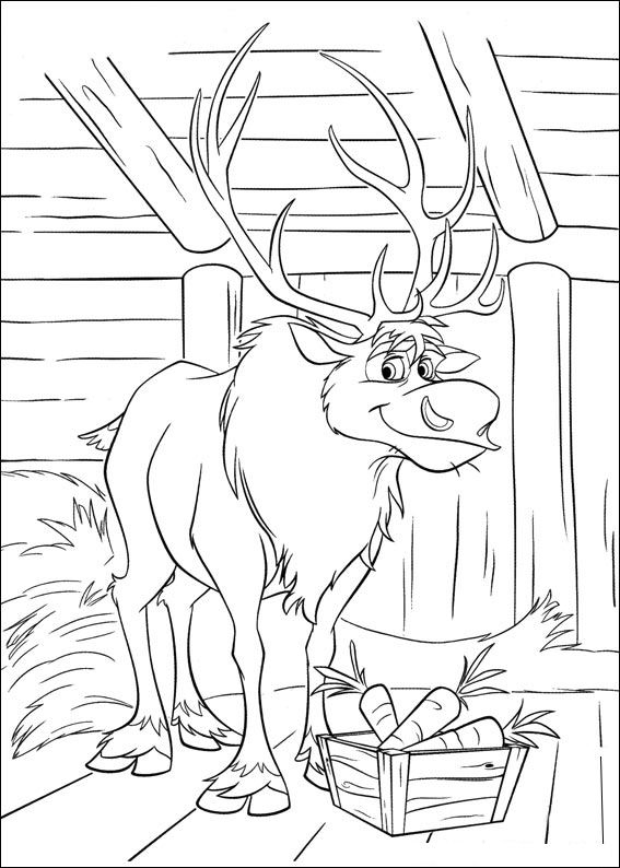 Kids-n-fun.com   35 coloring pages of Frozen